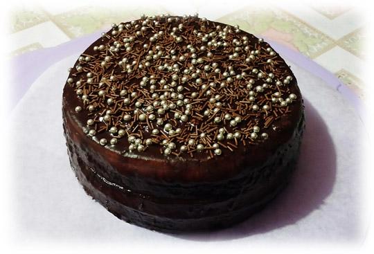 Pearl choco cake - Charles