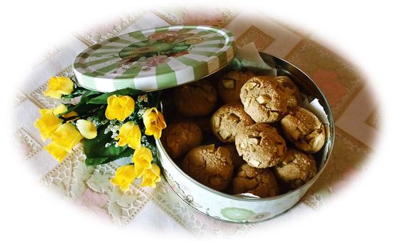 biscotti avena e mele