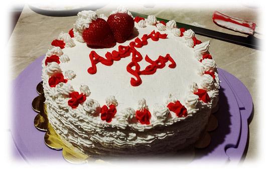 Torta panna e fragole (1°)