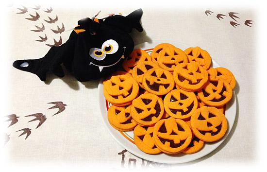 biscotti halloween zucchette