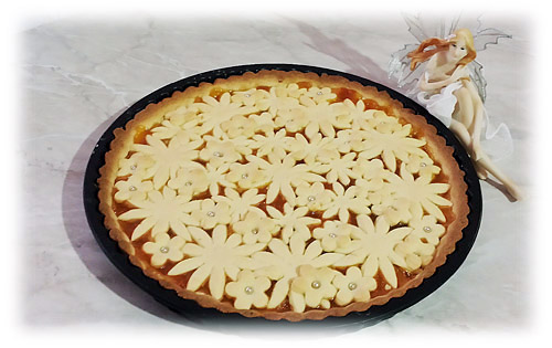 crostata fiorita