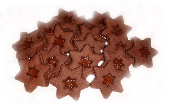 stelline cacao e albicocca