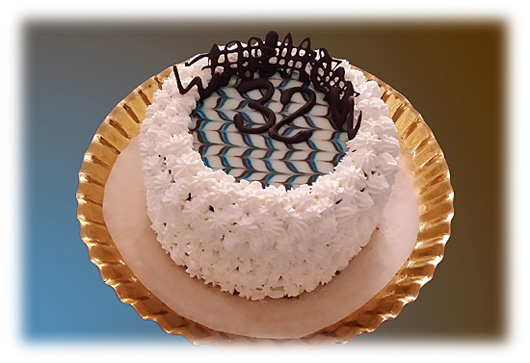 B&B cake - by Charles