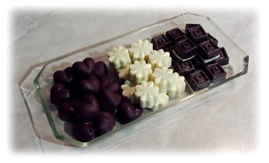 Cioccolatini di Charles 1 terzina