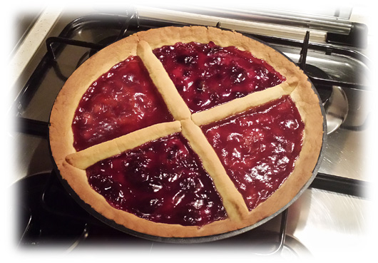Crostata Bi-Red by Charles