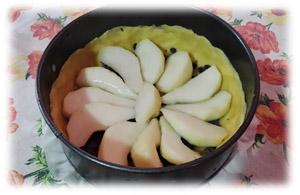 crostatina alle pere e gocce di ciocc2