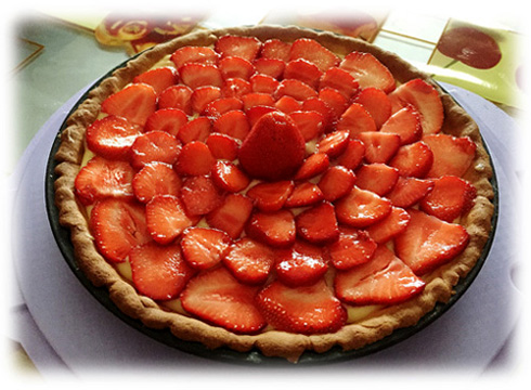 La crostata alle fragole by Charles