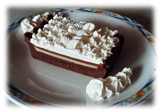 Crostata ai tre strati di cioccolato by Charles