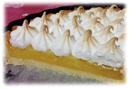 Lemon meringue cake by Charles