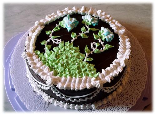 torta fiorita particolari2
