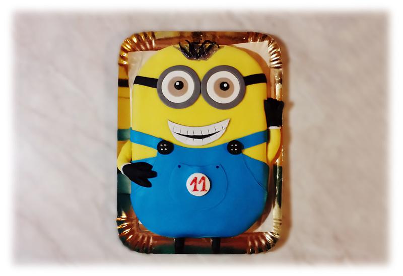 La torta Minion