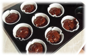 muffins cacao e ganache al gianduia3