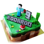 La Minecraft Cake (by Charles)
