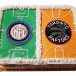 Idee: La Torta Sportiva (2 sport – 2 squadre)