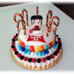 Torta Candy con Betty Boop