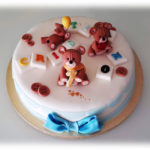 Birthday Cake with Teddy Bears #1