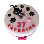 Idee: Torta con Gattino Nero