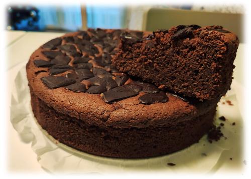 Torta al Cioccolato con Purea di Mele