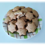 Biscotti con Farina di Mais Blu e Nocciole (by Charles)