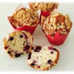 Muffins con i Frutti di Bosco