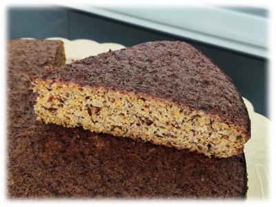 Torta di Carote Senza Burro ne Zucchero
