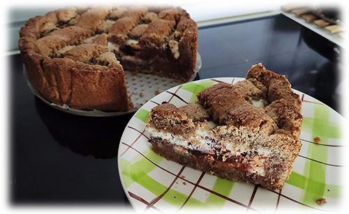 Torta Grano Saraceno Ricotta e Cioccolato